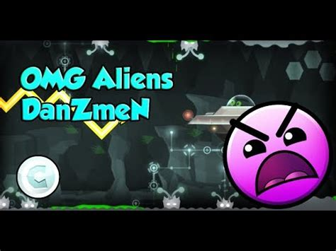 [gd] omg aliens by danzmen (all coins) | geometry dash 2