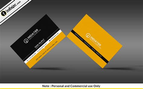 Cool Photshop Template Business Cards by Indiater Cool Business Card Psd Templates Indiater