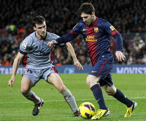 soccer the soccer lionel messi scores four in barcelona win toronto