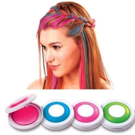 hot hues hairstyles 4pcs hot huez hues non toxic temporary hair chalk dye soft