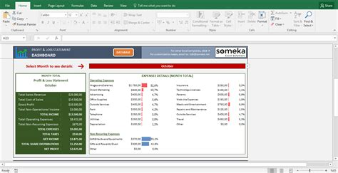 profit loss statement excel template profit and loss statement excel
