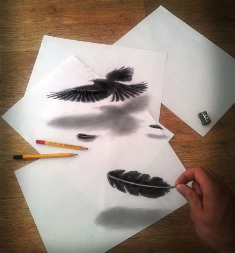 3d Sketches by 30 Of The Best 3d Pencil Drawings