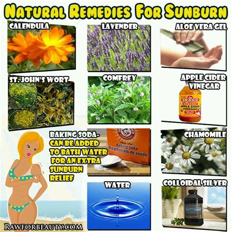 sunburn remedies health