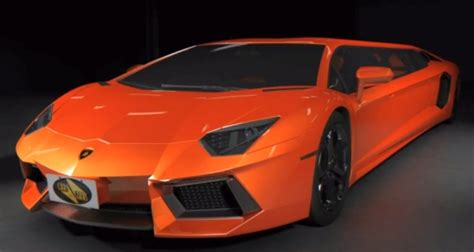lamborghini limo brace up for the lamborghini aventador stretch limo by