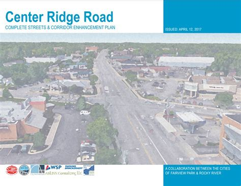 Rocky River Municipal Court Search Center Ridge Road Complete Streets Corridor Enhancement Plan City Of Rocky