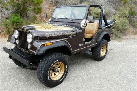 Jeep Golden Eagle Purchase Used Jeep Cj5 Golden Eagle With Powerful V8 In
