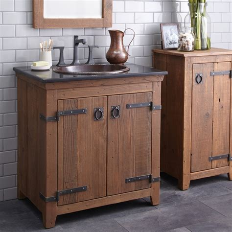 rustic bathroom vanities ideas for interesting rural look