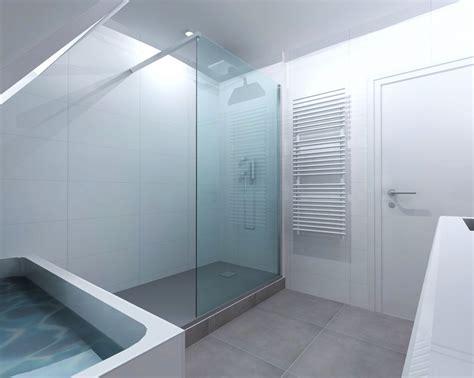 salle de bain blanche et grise 5141 r 233 novation salle de bain grise 224 rennes pac 233 bains et