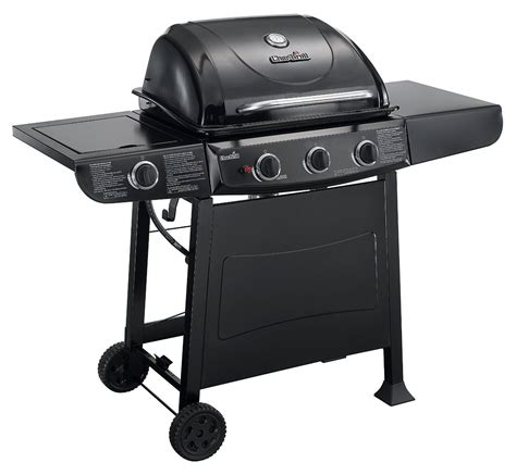 Char Broil 3 Burner Gas Grill Side Burner Cook Patio Bbq Backyard Grill 3 Burner Gas Grill With Side Burner
