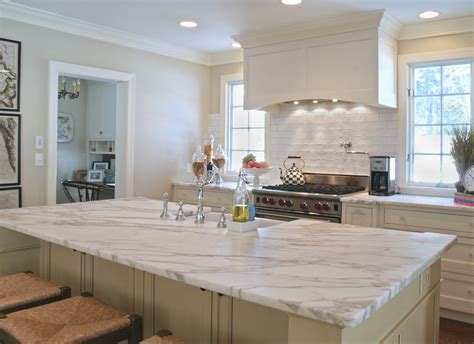 Subway Tile Backsplash For Kitchen granite or marble which is better for your kitchen
