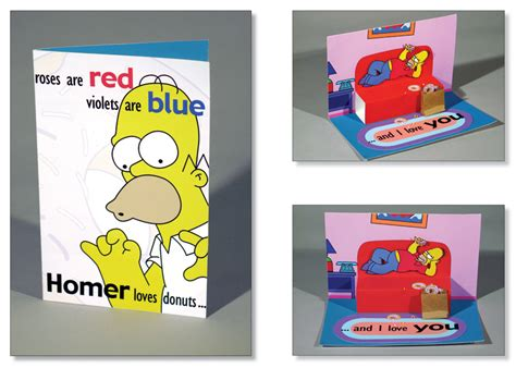 simpsons valentines cards simpsons s day card by kittybox on deviantart