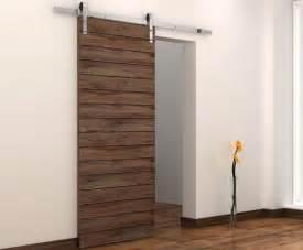 Interior sliding barn doors with modern door hardware