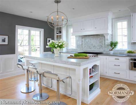 kitchen  gray paint color contemporary kitchen