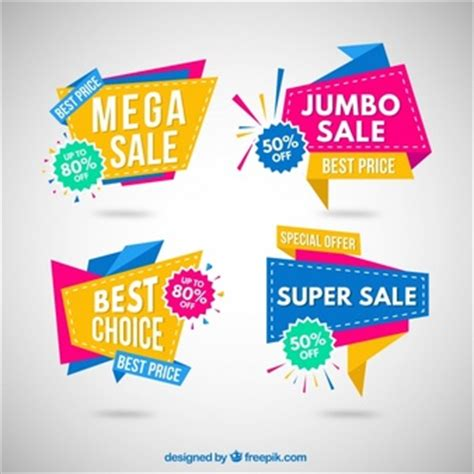 Origami Products For Sale - promotion banner vectors photos and psd files free