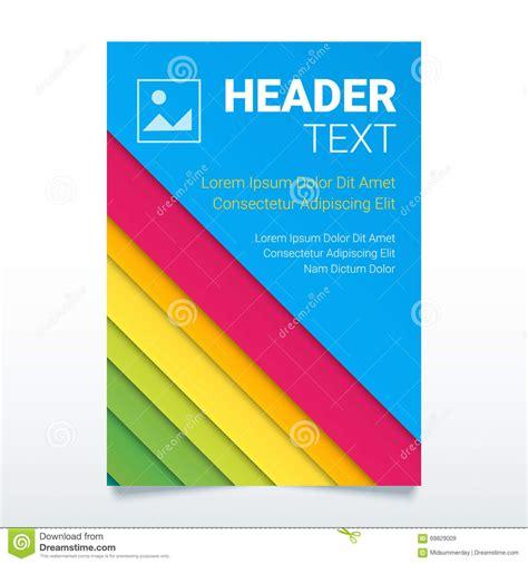 creative flyer design vector creative colorful flyer vector template in a4 size modern