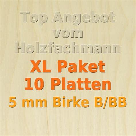 5 Mm Holzplatte by Xl Paket Sperrholz 5mm Birke Modellbau Holzplatte