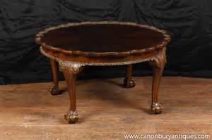 Antique Mahogany Coffee Table Antique Mahogany Chippendale Coffee Table Carved Tables