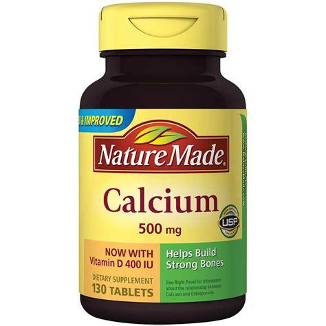 Cdr Calsium D Redoxon Kalsium Isi 10 Tab Effervescent nature made calcium carbonate 500 mg w vitamin d3 400 iu tablets 130 ct health
