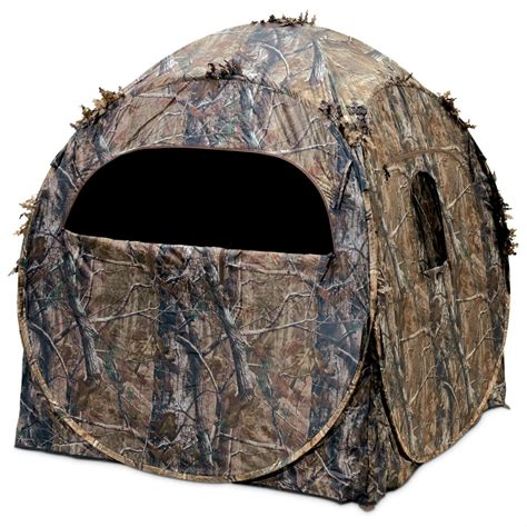 ameristep dog house blind ameristep 174 doghouse blind realtree 174 apg camo 213450 ground blinds at
