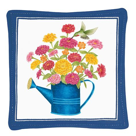 Mug Mat by S Cottage Watering Can Spiced Mug Mat Set Of 4