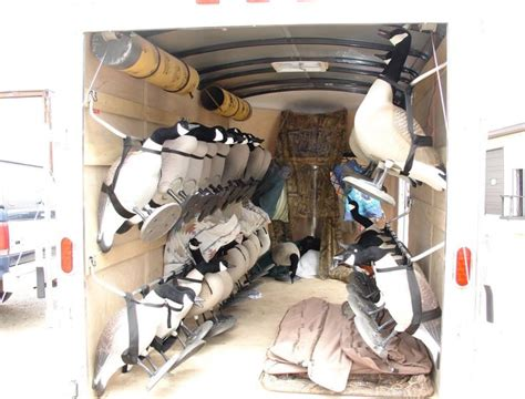 enclosed duck boat blind 8 best goose trailer design and duck hunting needs images