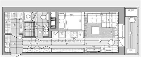 Plan Maison En T 4518 by Plans Pour Am 233 Nager Et D 233 Corer Un Appartement De 30m2