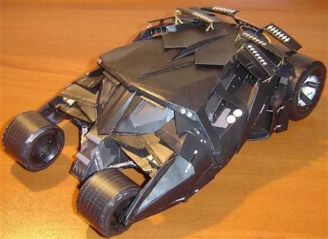 Batmobile Papercraft - papercraft batmobile the gets his car back