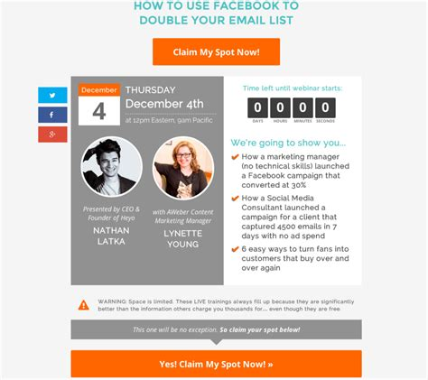 Webinars For Small Businesses Your Checklist For Success Email Marketing Tips Webinar Success Templates