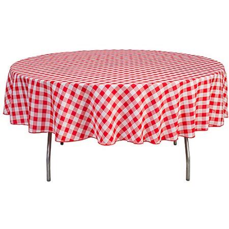 round table cloth walmart round 90 quot polyester tablecloth walmart com