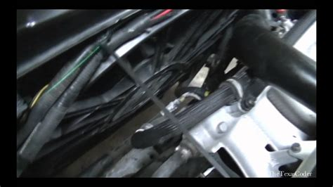 volvo xc radiator removal replacement repair youtube