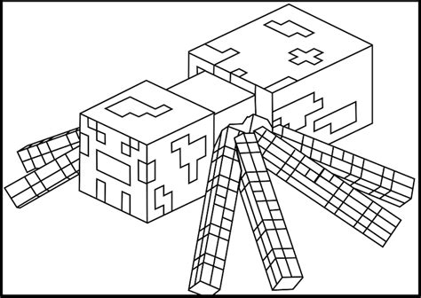 coloring pages minecraft wolf minecraft coloring pages printable minecraft spider