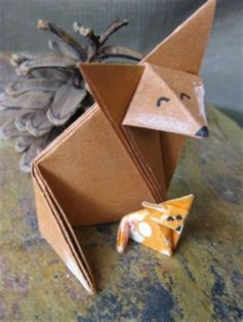 3d origami fox tutorial origami on pinterest origami tutorial 3d origami and