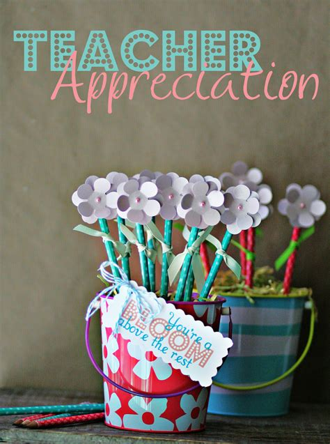 Handmade Teachers Day Gift - 23 handmade appreciation gift tutorials
