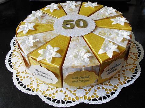 Easter Present Ideas papiertorte zur goldenen hochzeit paper cake golden