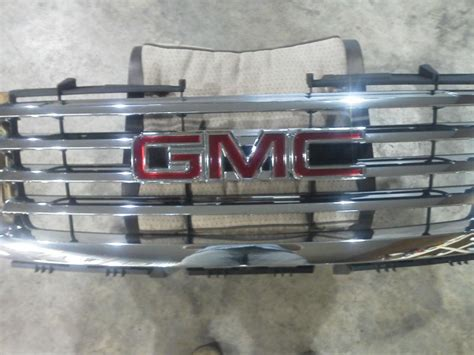 2008 gmc grill find 2008 gmc chrome grill motorcycle in albany ohio us