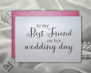 wedding card to best friend bridal shower cards by picmatcards