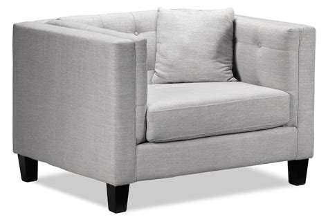 Gray Chair And A Half by Astin Chair And A Half Grey S