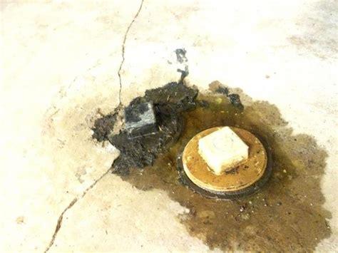 basement floor plug leaking what is it doityourself