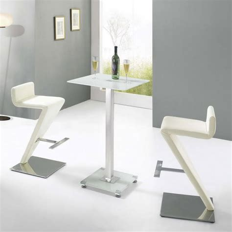 Glass Bar Table And Stools Glass Bar Table With 2 Br 216 Stools