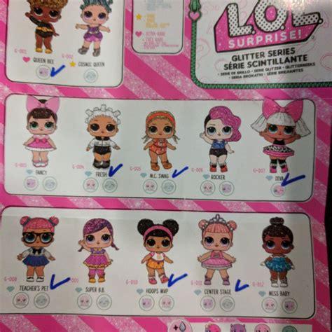 lol glitter series toys bricks