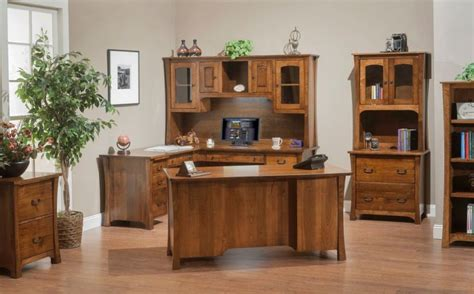 solid wood executive office furniture solid wood executive office furniture with amish touch