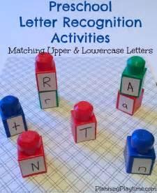 preschool letter recognition activities planning playtime