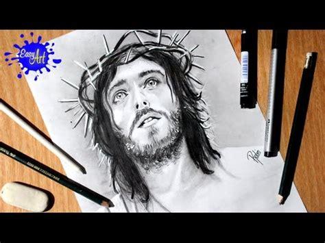 imagenes de jesucristo para dibujar a lapiz como dibujar a jes 250 s how to draw jesus semana santa
