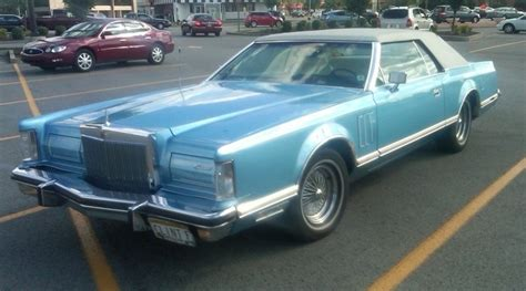 School Lincoln Continental by Curbside Classic 1978 Lincoln Continental V