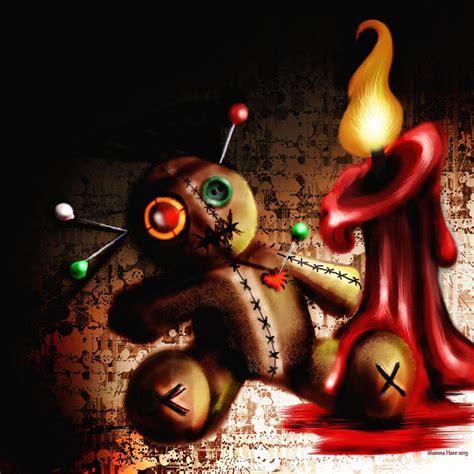 doll artwork voodoo doll digital by shanna hare