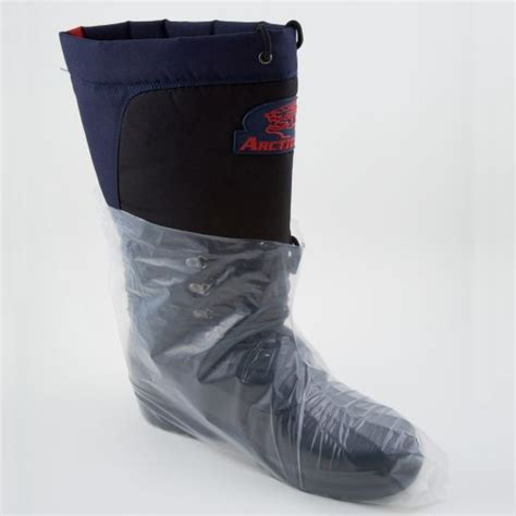clear polyethylene boot shoe cover
