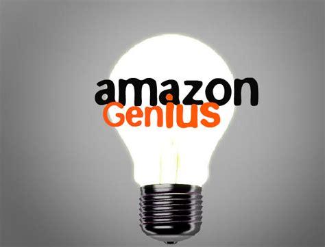 amazon genius amazon genius blog launch tom fougerousse