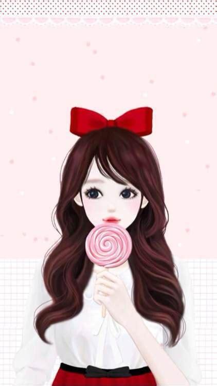 anime girl cartoon wallpaper ٩ ๑ ๑ ۶ anime illustration pinterest free paper