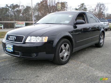2004 black audi a4 2004 audi a4 1 8t quattro sedan in brilliant black