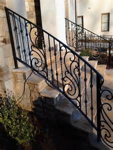 Wrought Iron Handrail Designs wrought iron handrail iron handrails and mediterranean houses on